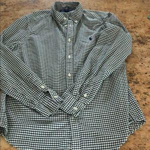 Ralph Lauren boys button up size XL 18-20